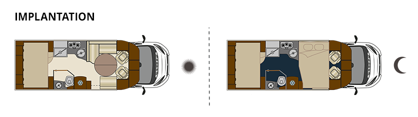 mayflower 70lbm le camping car avec soute gigantesque floriumflorium. Black Bedroom Furniture Sets. Home Design Ideas