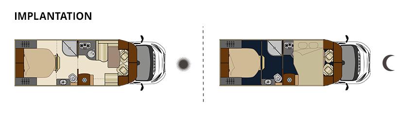mayflower 73ctc le camping car profil lit pavillon floriumflorium. Black Bedroom Furniture Sets. Home Design Ideas
