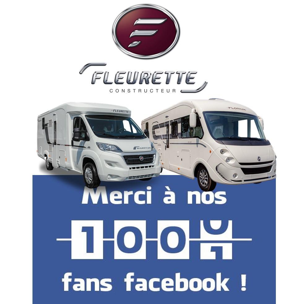 1000 fans sur Facebook