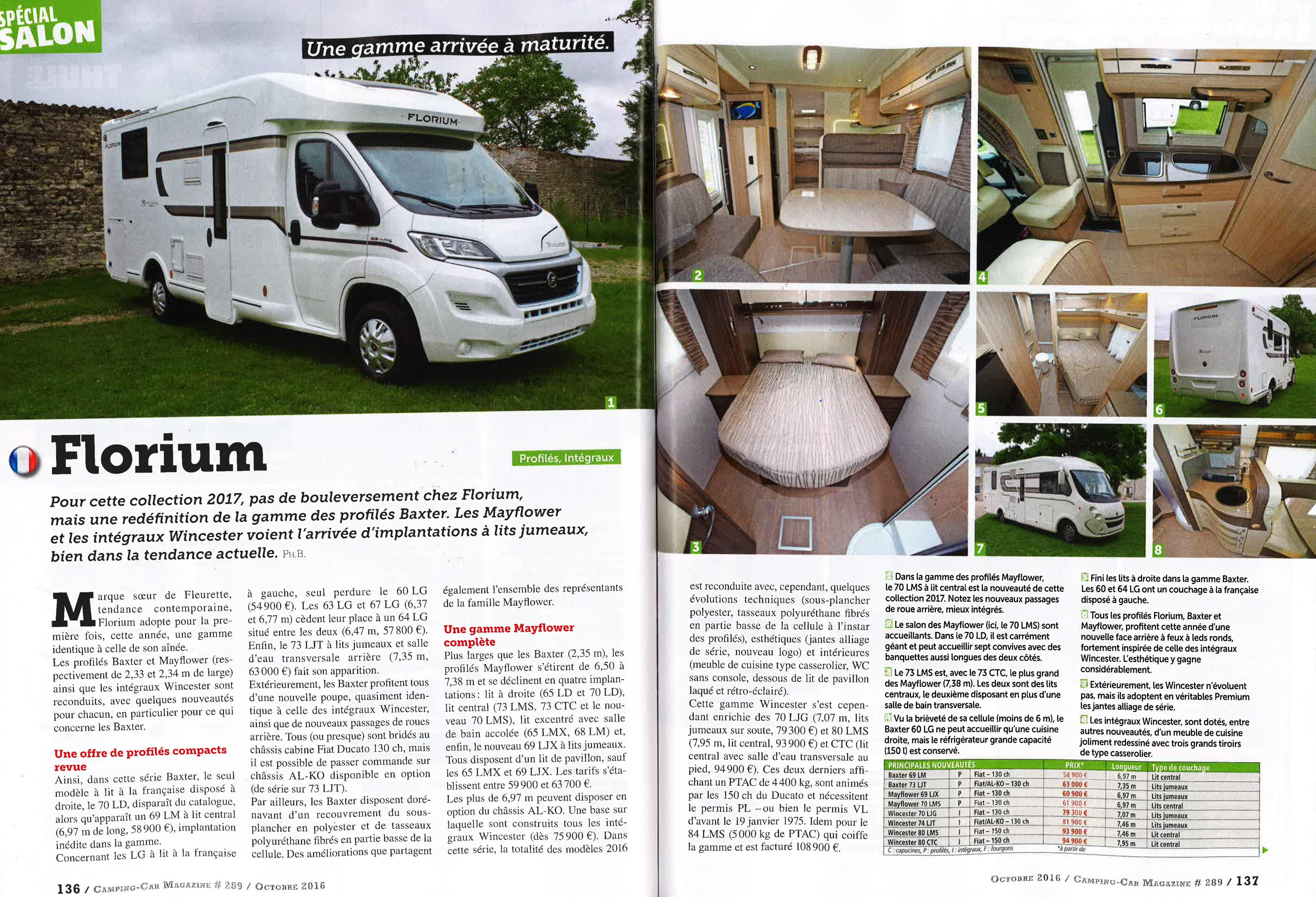 florium camping car magazine 1 floriumflorium. Black Bedroom Furniture Sets. Home Design Ideas