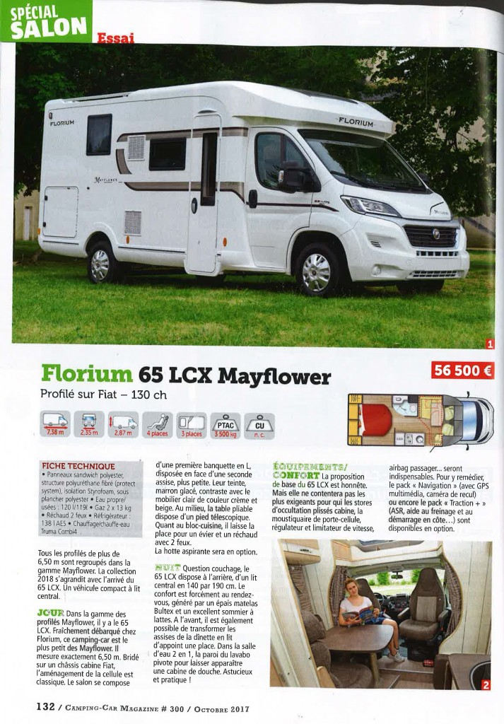 Florium Mayflower 65LCX