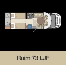 NL-Camping-car-lit-jumeaux-salle-de-bain-arriere-73LJF-implantation-2019-gamme-Florium-Mayflower